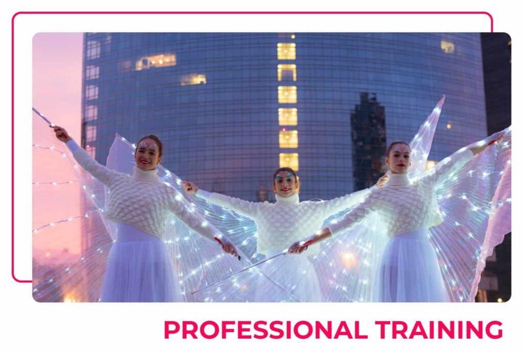 Pattinaggio creativo - Professional Training