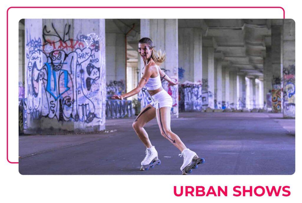 Pattinaggio creativo - Urban Shows